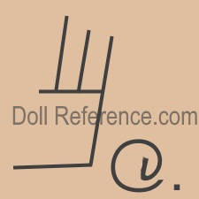 symbol @ doll mark American Girl doll competitor