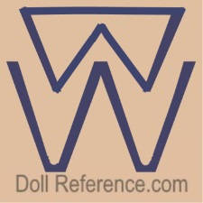 Bing Brothers doll mark WW symbol