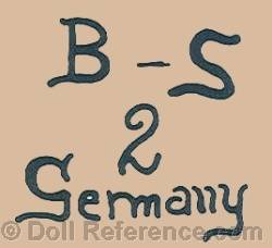 H. Buhl & Sohn doll mark B-S 2 Germany