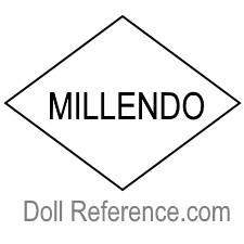 W. Cohen & Sons doll mark MILLENDO