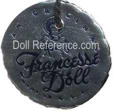 Francesse Doll mark tag USA