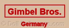 Gimbel Brothers doll mark label