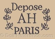 Hannebelle doll mark Depose AH Paris