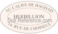 Au Calife de Bagdad Herbillion doll shop 14 Rue de Choiser, Paris