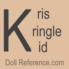 Kris Kringle Kid Company doll mark