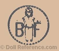 Les Bébés de France Cie doll mark BF