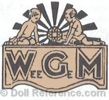 Wilhelm G. Muller doll mark Wee Ge M label