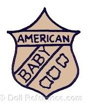 Petri & Blum oll mark American Baby on a shield