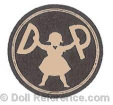 Dora Petzold doll mark DP