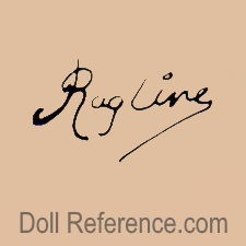 Ragline cloth doll mark