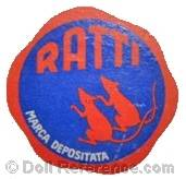 Ratti doll mark two rats symbol