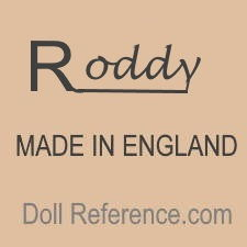 Roddy doll mark Made in England