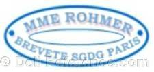 Madame Rohmer doll mark label