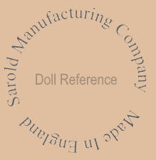Sarold Manufacturing Company doll mark Made in England