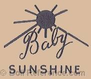 Sears doll mark label Baby Sunshine