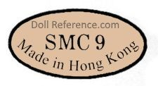 SMC doll mark inside a diamond Made in  Hong Kong