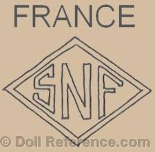 Societe Nobel Francaise doll mark SNF