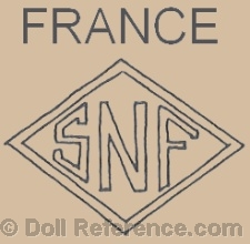 Societe Nobel Française SNF doll mark