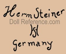 Hermann Steiner doll mark Herm Steiner HS Germany