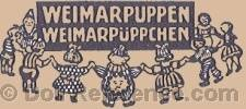 Thuringer Stoffpuppen Fabrik doll mark