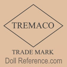 Treng Manufacturing Co. doll mark TREMACO