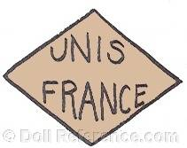 Union National Inter Syndicale UNIS doll mark France