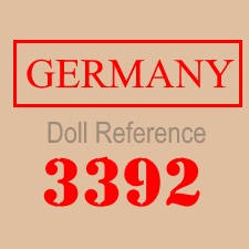 Adolf Wislizenus doll body mark 3392 Germany