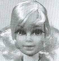 1115 Barbie Talk - Stacey head mold (1970)