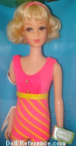 1170 Francie Twist N' Turn doll 1969