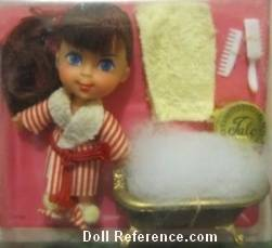 Mattel Little Kiddle 3518 Soapy Siddle doll 1967