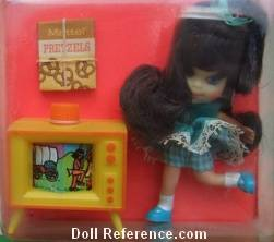 Mattel Little Kiddle 3751 Telly Viddle doll 1968