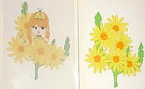 8572 Daisy doll Original artwork