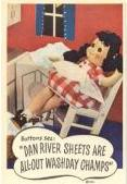 1948 Dan River Buttons Doll ad