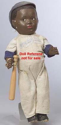 1950 Allied Grand Jackie Robinson doll 13""