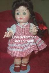 1951-1957 Block Karen the Answer Doll, 12""