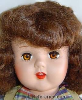 1951 Artisan Raving Beauty doll 20""