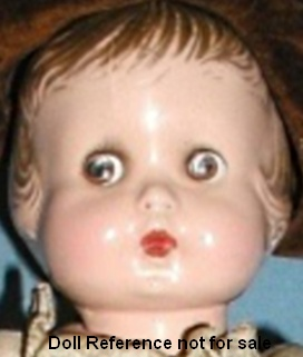 1929 Averill Jimmie or Dimmie doll, 14""