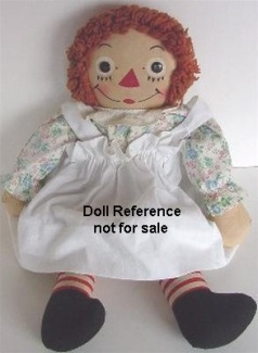 1940s Averill Raggedy Ann doll by J. Gruelle