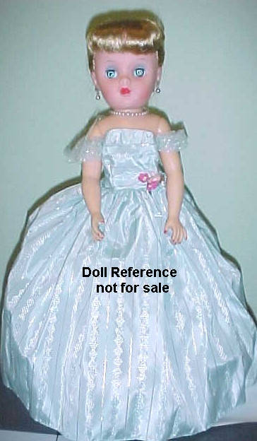 1956-1957 Belle Margie doll, 17""