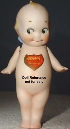 1913 Cameo bisque Kewpie Doll