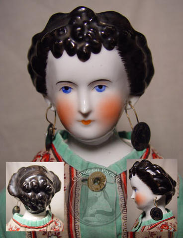 1860's Countess Dagmar, China Head Doll