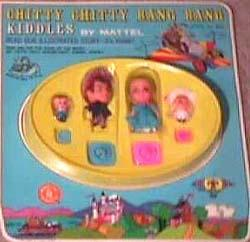 1969 Chitty Chitty Bang Bang Kiddles by Mattel