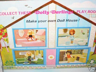 Hasbro Dolly Darling Doll Playroom box