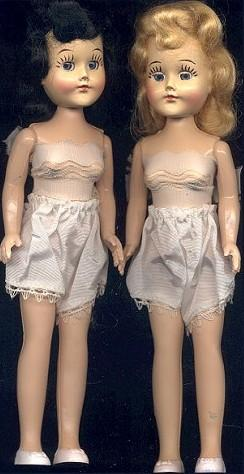 1950s Doll Bodies Lingerie-Lou doll, 12""