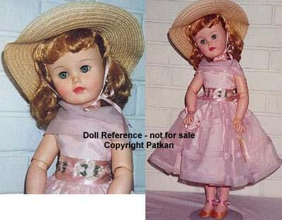 F & B 1958 Alyssa doll, 23""