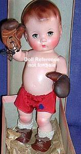F & B 1946 Candy Kid doll, 14""