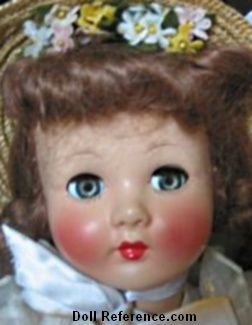 1950s F & B Honey Doll 21""