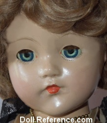 1944 Effanbee Little Lady doll/Anne Shirley doll mold face