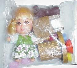 8702 Hasbro Storykins Goldilocks doll 1967