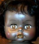 1971 Horsman Super-Flex doll or Sofskin Black Girl doll, 15""